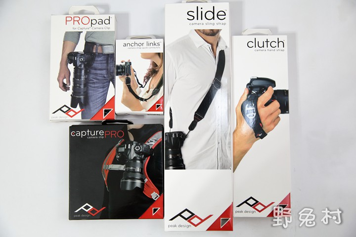 [攝影-敗物] Peak Design - Slide and Clutch快速便利的相機背帶、手腕帶以及CapturePRO、PROpad、anchor links