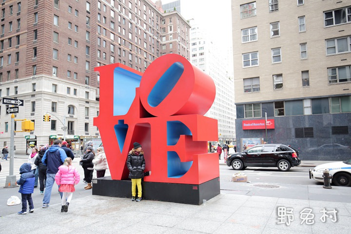 [美國-旅遊] Love Sculpture - 紐約街頭 LOVE