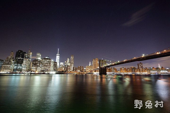 [美國-旅遊] Brooklyn Bridge Park 夜景篇 - 紐約自由行